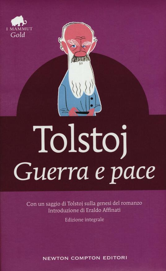 Guerra e pace. Ediz. integrale - Lev Tolstoj - copertina
