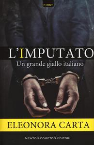 Libro L' imputato Eleonora Carta