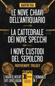 Writersfactory.it Parthenope trilogy: Le nove chiavi dell'antiquario-La cattedrale dei nove specchi-I nove custodi del sepolcro Image