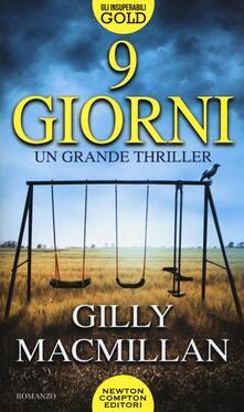 9 giorni - Gilly Macmillan - copertina