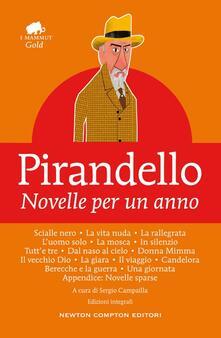 Novelle per un anno. Ediz. integrale - Luigi Pirandello - copertina
