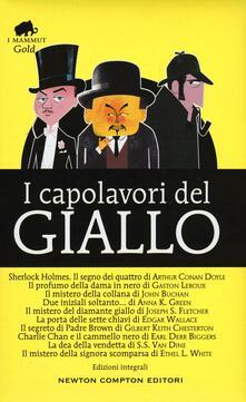 I capolavori del giallo. Ediz. integrali - copertina