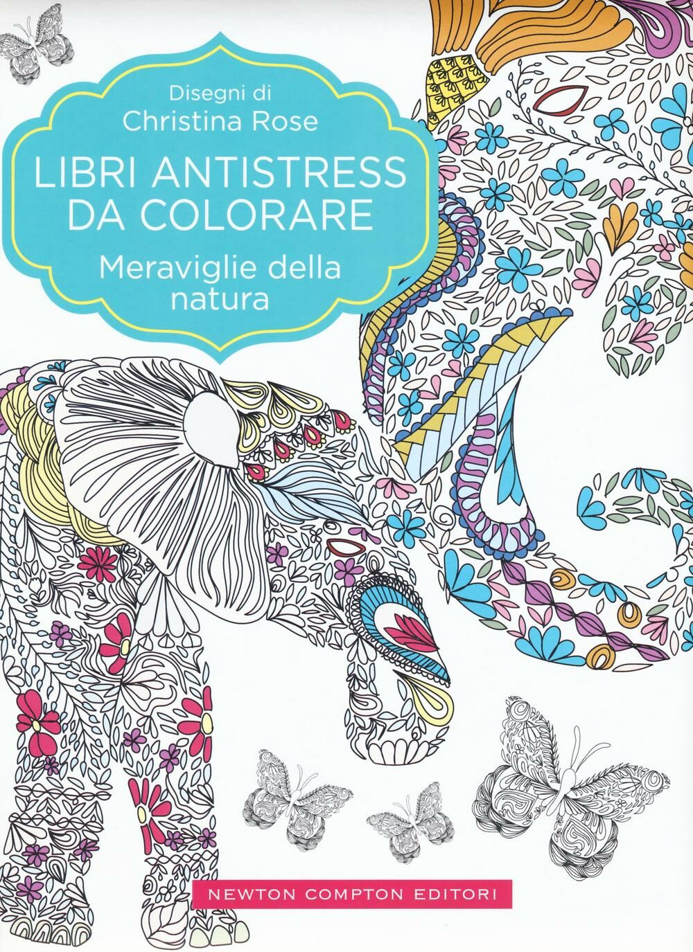 Meraviglie della natura. Libri antistress da colorare