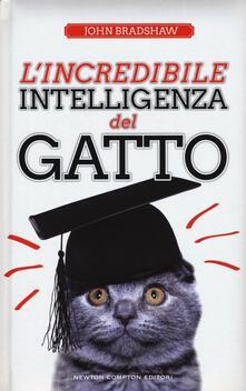 L' incredibile intelligenza del gatto - John Bradshaw - copertina