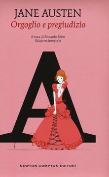 Orgoglio e pregiudizio. Ediz. integrale - Jane Austen - copertina