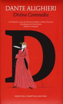 La Divina Commedia. Ediz. integrale - Dante Alighieri - copertina