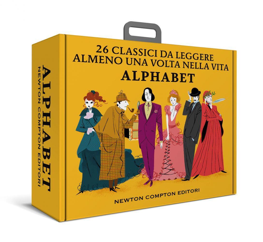 alphabet. 26 classici da leggere almeno una volta nella vita - libro