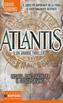 Atlantis - David Gibbins - copertina