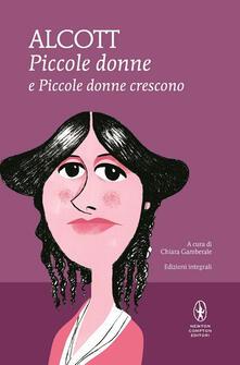 Piccole donne-Piccole donne crescono. Ediz. integrale - Louisa May Alcott - copertina