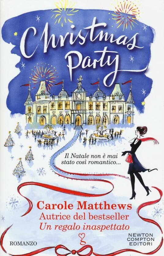 Christmas party - Carole Matthews - copertina