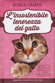 L' insostenibile tenerezza del gatto - Sonia Campa - copertina
