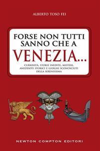 Forse non tutti sanno che a Venezia... curiosità, storie inedite, misteri, aneddoti storici e luoghi sconosciuti della città più famosa d'Italia - Alberto Toso Fei - ebook