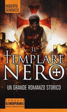 Il templare nero - Roberto Genovesi - copertina