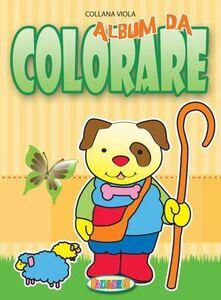 Libro Album da colorare: A-B-C-D. Ediz. illustrata