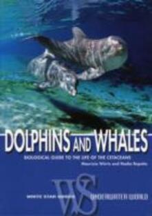 Dolphins and whales. Ediz. illustrata - copertina