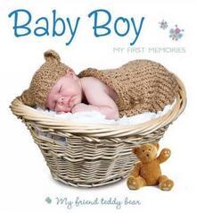 Baby boy Teddy Bear - copertina