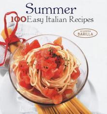Estate. 100 ricette facili della tradizione italiana. Ediz. inglese - Mariagrazia Villa - copertina