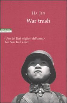War trash - Jin Ha - copertina