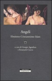 Angeli, ebraismo, cristianesimo, islam - copertina