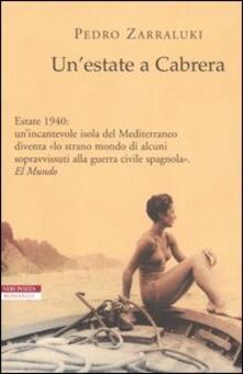 Camfeed.it Un' estate a Cabrera Image