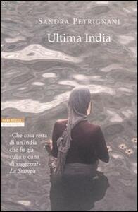 Ultima India - Sandra Petrignani - copertina