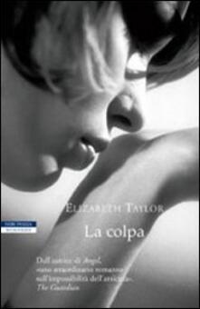 La colpa - Elizabeth Taylor - copertina