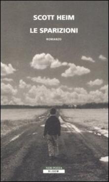 Le sparizioni - Scott Heim - copertina