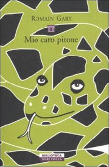 Mio caro pitone - Romain Gary - copertina
