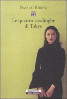 Le quattro casalinghe di Tokyo - Natsuo Kirino - copertina