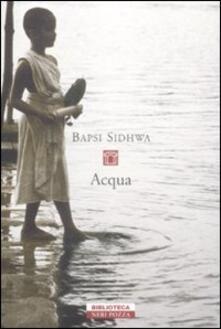 Acqua - Bapsi Sidhwa - copertina