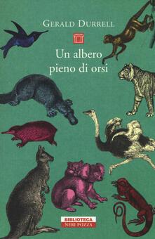 Un albero pieno di orsi - Gerald Durrell - copertina