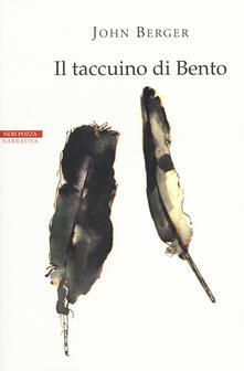 Il taccuino di Bento - John Berger - copertina