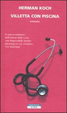 Villetta con piscina - Herman Koch - copertina