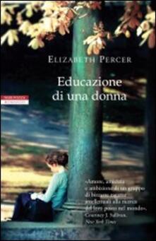 Educazione di una donna - Elizabeth Percer - copertina