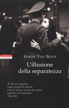 L' illusione della separatezza - Simon Van Booy - copertina
