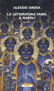 La letteratura tamil a Napoli - Alessio Arena - copertina