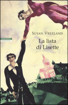 La lista di Lisette - Susan Vreeland - copertina