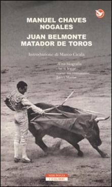 Secchiarapita.it Juan Belmonte matador de toros Image