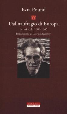 Camfeed.it Dal naufragio di Europa. Scritti scelti 1909-1965 Image