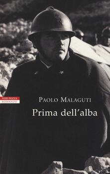 Prima dell'alba - Paolo Malaguti - copertina