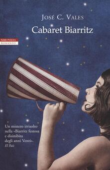 Cabaret Biarritz - José C. Vales - copertina