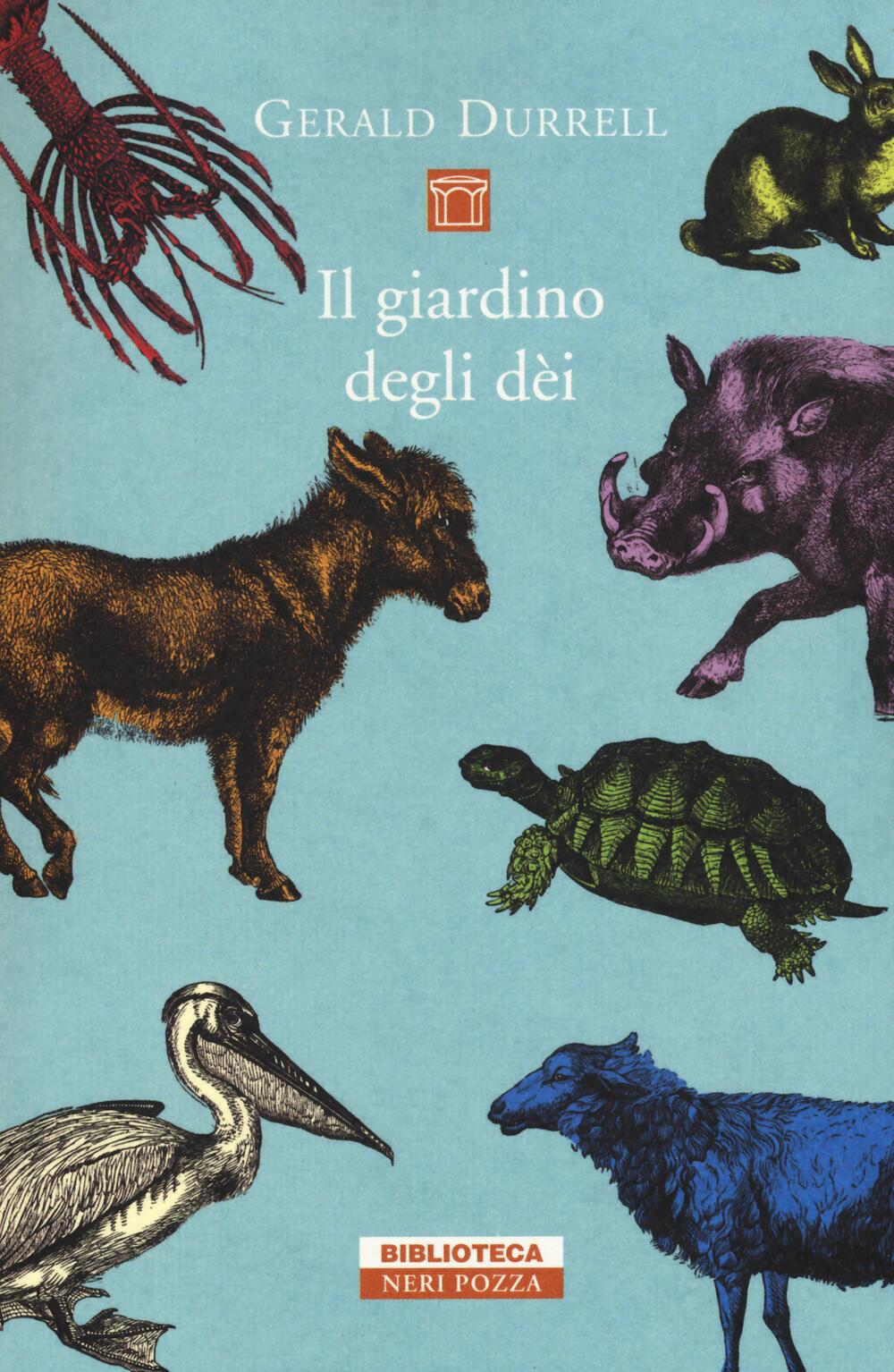 Il giardino degli dei gerald durrell libro neri - Il giardino degli dei ...