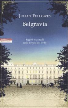 Belgravia - Julian Fellowes - copertina