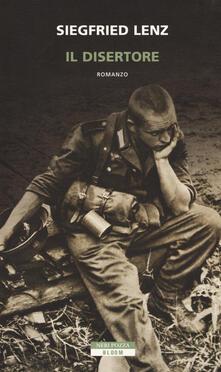 Il disertore - Siegfried Lenz - copertina