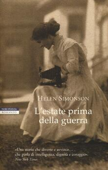 L' estate prima della guerra - Helen Simonson - copertina