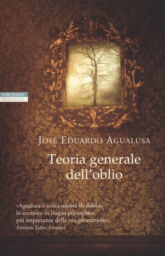 Teoria generale dell'oblio - José Eduardo Agualusa - copertina