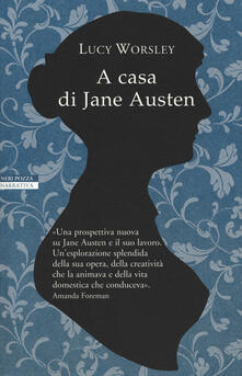 A casa di Jane Austen - Lucy Worsley - copertina