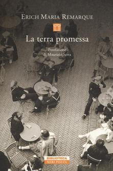 La terra promessa - Erich Maria Remarque - copertina