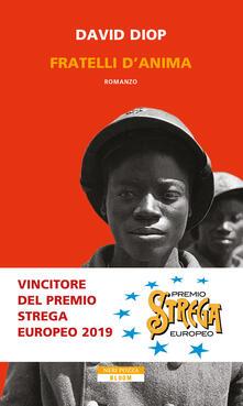 Fratelli d'anima - David Diop - copertina