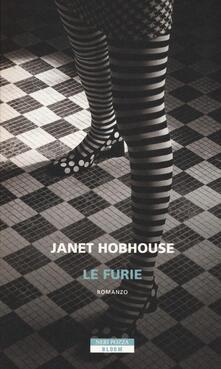 Le furie - Janet Hobhouse - copertina